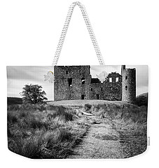Path To Kilchurn Castle Weekender Tote Bag by Dave Bowman