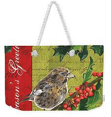 Peace On Earth 1 Weekender Tote Bag by Debbie DeWitt