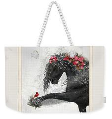 Peace On Earth Weekender Tote Bag by Fran J Scott