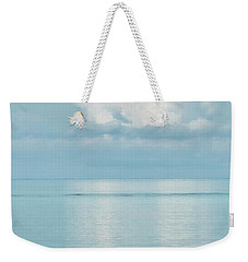 Peaceful Reflections Of Clouds Weekender Tote Bag by Gary Slawsky