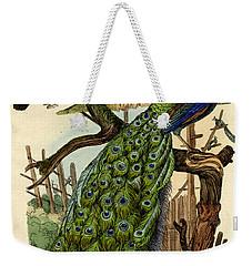 Peacock Weekender Tote Bag by French School
