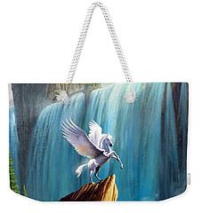 Pegasus Kingdom Weekender Tote Bag by Garry Walton