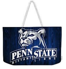 Penn State Barn Door Weekender Tote Bag by Dan Sproul