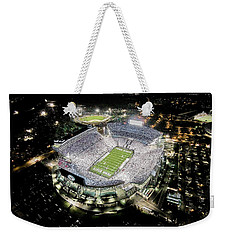 Penn State Whiteout Weekender Tote Bag by Amesphotos