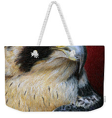 Peregrine Falcon Weekender Tote Bag by Pat Erickson