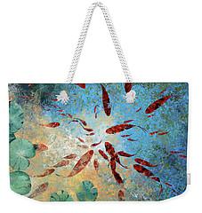 Koi Rotanti Weekender Tote Bag by Guido Borelli
