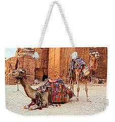 Petra Camels Weekender Tote Bag by Stephen Stookey