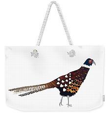 Pheasant Weekender Tote Bag by Isobel Barber