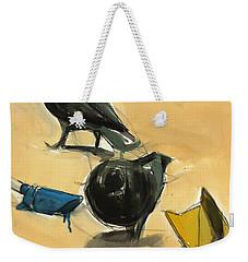Pigeons Weekender Tote Bag by Daniel Clarke