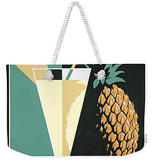 Pina Colada Weekender Tote Bag by Brian James