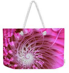Pink Weekender Tote Bag by Lena Auxier