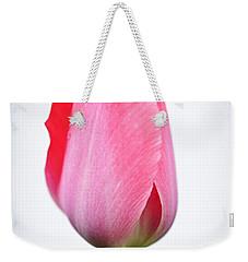 Pink Tulip Weekender Tote Bag by Elena Elisseeva