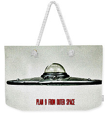 Plan 9 From Outer Space Weekender Tote Bag by Benjamin Yeager