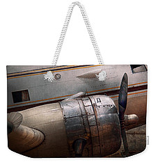 Plane - A Little Rough Around The Edges Weekender Tote Bag by Mike Savad
