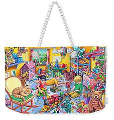 Play Room Weekender Tote Bag by Mark Gregory