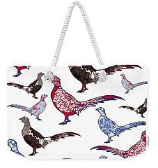 Plush Weekender Tote Bag by Sarah Hough