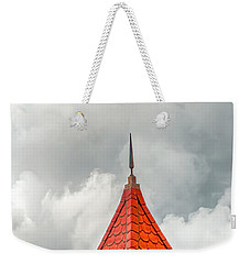Pointing To The Clouds Weekender Tote Bag by Gary Slawsky