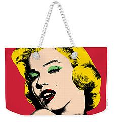 Pop Art Weekender Tote Bag by Mark Ashkenazi