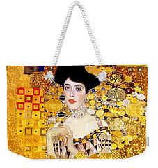 Portrait Of Adele Bloch-bauer Weekender Tote Bag by Gustav Klimt