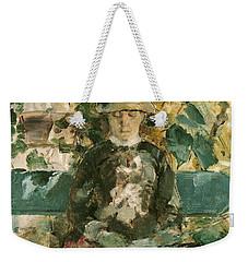 Portrait Of Adele Tapie De Celeyran Weekender Tote Bag by Henri de Toulouse-Lautrec