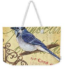 Pretty Bird 4 Weekender Tote Bag by Debbie DeWitt