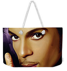 Prince Artwork Weekender Tote Bag by Sheraz A