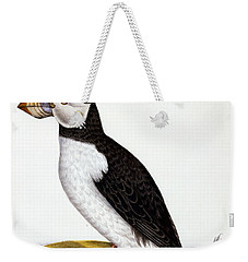Puffin, Marmon Fratercula, Circa 1840 Weekender Tote Bag by French School