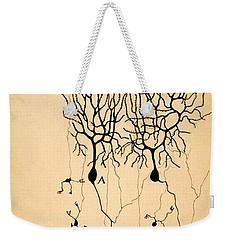 Purkinje Cells By Cajal 1899 Weekender Tote Bag by Science Source