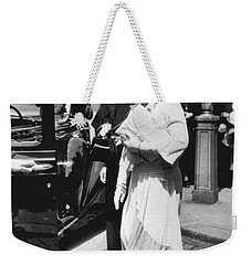 Queen Elizabeth Fashion Weekender Tote Bag by Underwood Archives