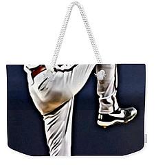 Randy Johnson Weekender Tote Bag by Florian Rodarte