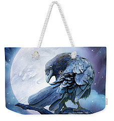 Raven Moon Weekender Tote Bag by Carol Cavalaris