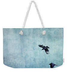 Ravens Flight Weekender Tote Bag by Priska Wettstein