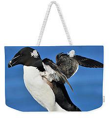 Razorbill Weekender Tote Bag by Tony Beck
