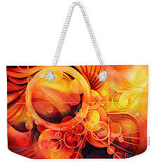 Rebirth - Phoenix Weekender Tote Bag by Hailey E Herrera