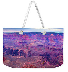 Red Rock Dusk Weekender Tote Bag by Mike  Dawson