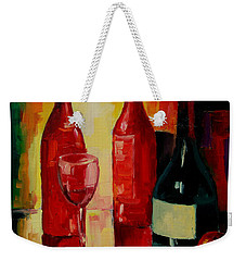 Reflections Weekender Tote Bag by Mona Edulesco