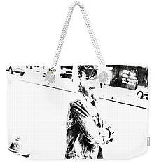 Rihanna Hanging Out Weekender Tote Bag by Brian Reaves