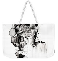 Rihanna Stay Weekender Tote Bag by Molly Picklesimer