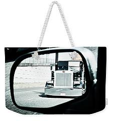 Road Rage Weekender Tote Bag by Aaron Berg