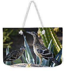 Roadrunners At Play  Weekender Tote Bag by Saija  Lehtonen