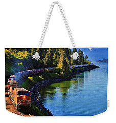 Rollin' Round The Bend Weekender Tote Bag by Benjamin Yeager