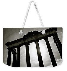 Roman Forum Weekender Tote Bag by Dave Bowman