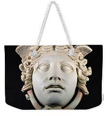 Rondanini Medusa, Copy Of A 5th Century Bc Greek Marble Original, Roman Plaster Weekender Tote Bag by .
