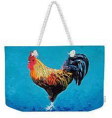 Rooster Emanuel Weekender Tote Bag by Jan Matson