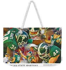Rose Bowl Collage Weekender Tote Bag by John Farr
