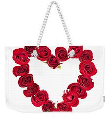 Rose Heart Weekender Tote Bag by Elena Elisseeva