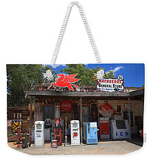 Route 66 - Hackberry General Store Weekender Tote Bag by Frank Romeo