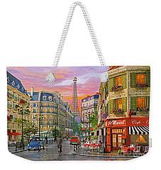 Rue Paris Weekender Tote Bag by Dominic Davison