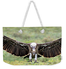 Ruppells Griffon Vulture Gyps Weekender Tote Bag by Panoramic Images