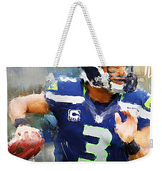 Russell Wilson Weekender Tote Bag by Lourry Legarde